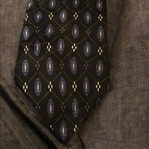 Black and Blue Van Heusen Tie